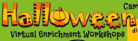 Halloween workshops logo