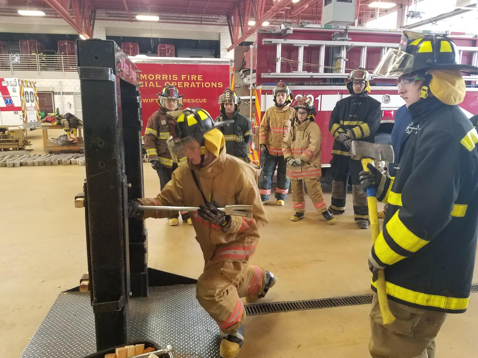 Forcible Entry training