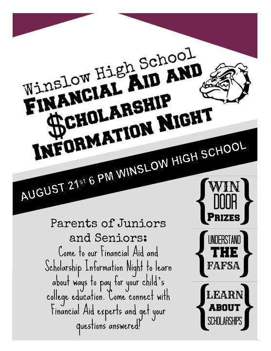 Financial Aid and Scholarship Information Night Featured Photo