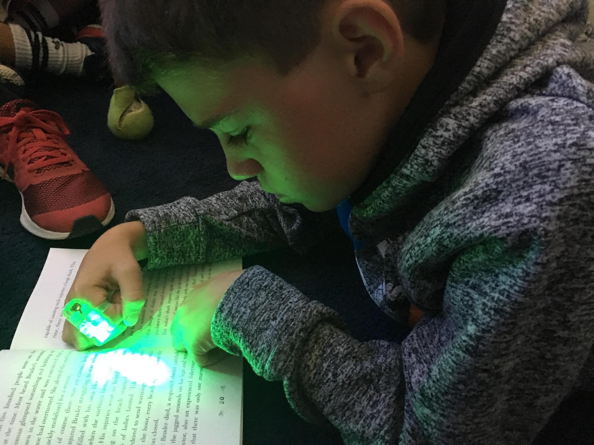 Flashlight Friday Readers