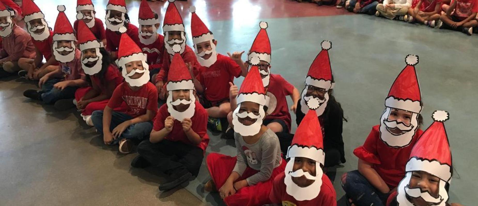 Students as Santa Claus