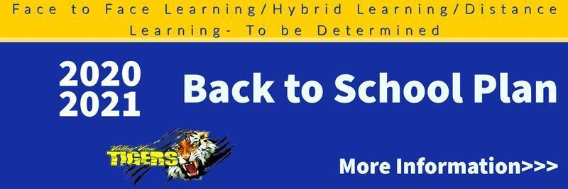 Return to School Infromation Thumbnail Image