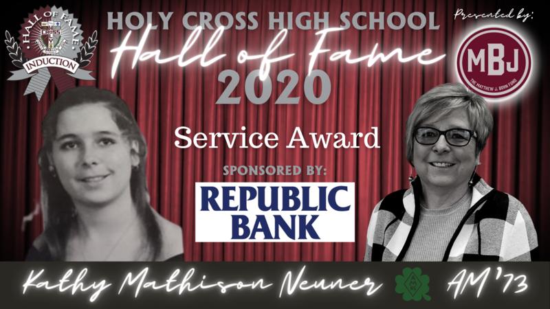 Hall of Fame Induction Week: 2020 Service Award- Kathy Mathison Neuner, AM'73 Featured Photo