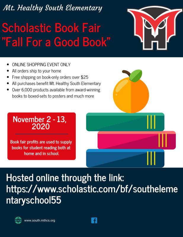 South Book fair flyer