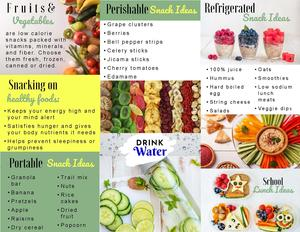 Healthy Snacking Brochure page 2