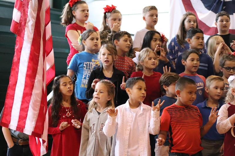 Bertram Elementary Pays Tribute to Veterans Thumbnail Image