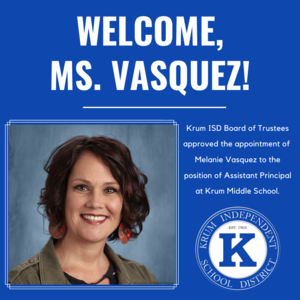 KMS Names New Assistant Principal Featured Photo