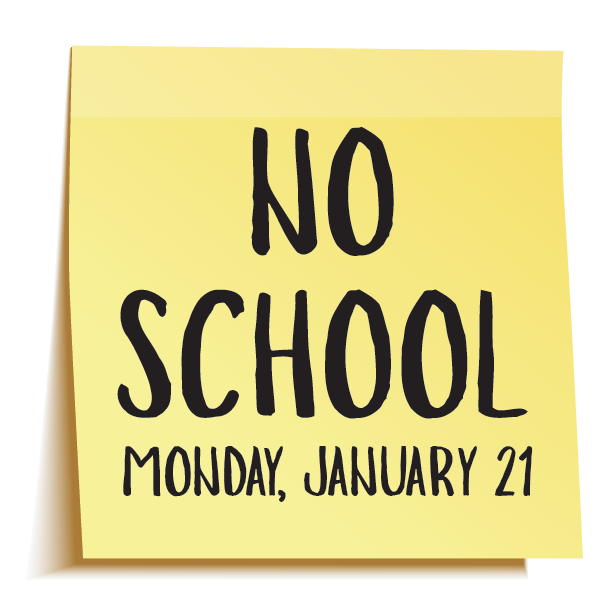 Reminder: All LCISD campuses will be closed on Monday, January 21! Thumbnail Image