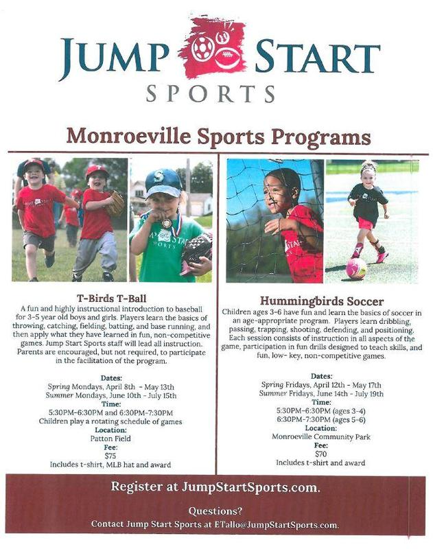 Monroeville Sports Programs