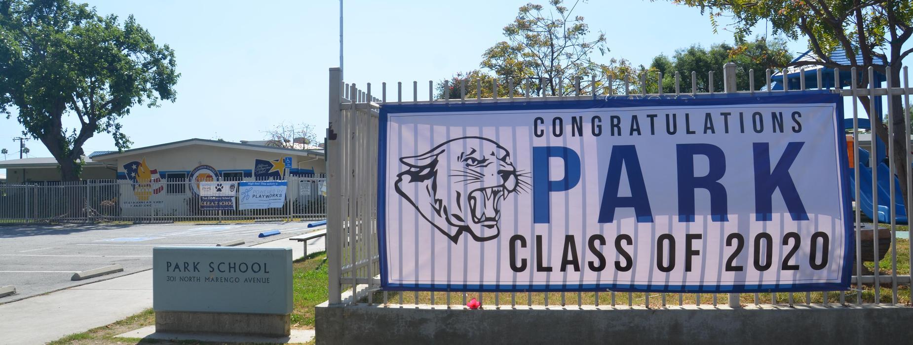 Park Class of 2020 Banner