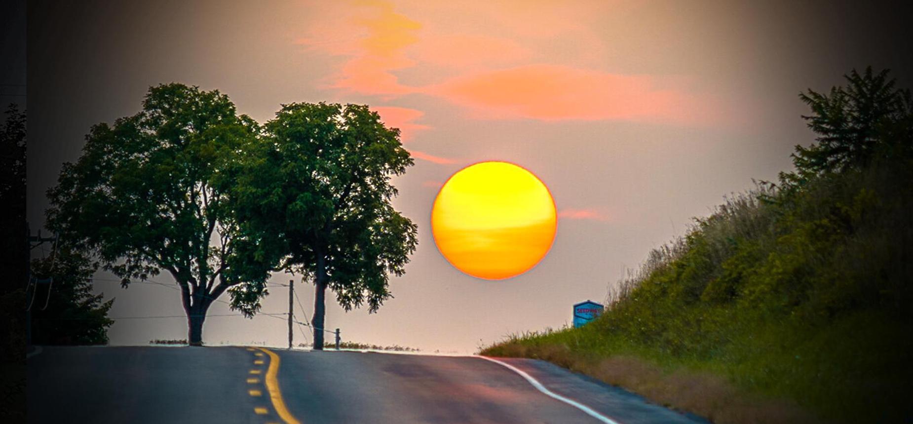 Photograph of California Sun by Brady Hommel in Honeoye NY