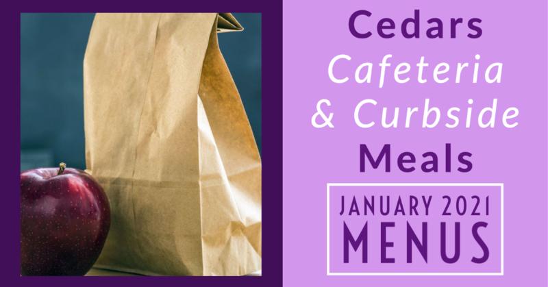 January 2021 Cafeteria Menus