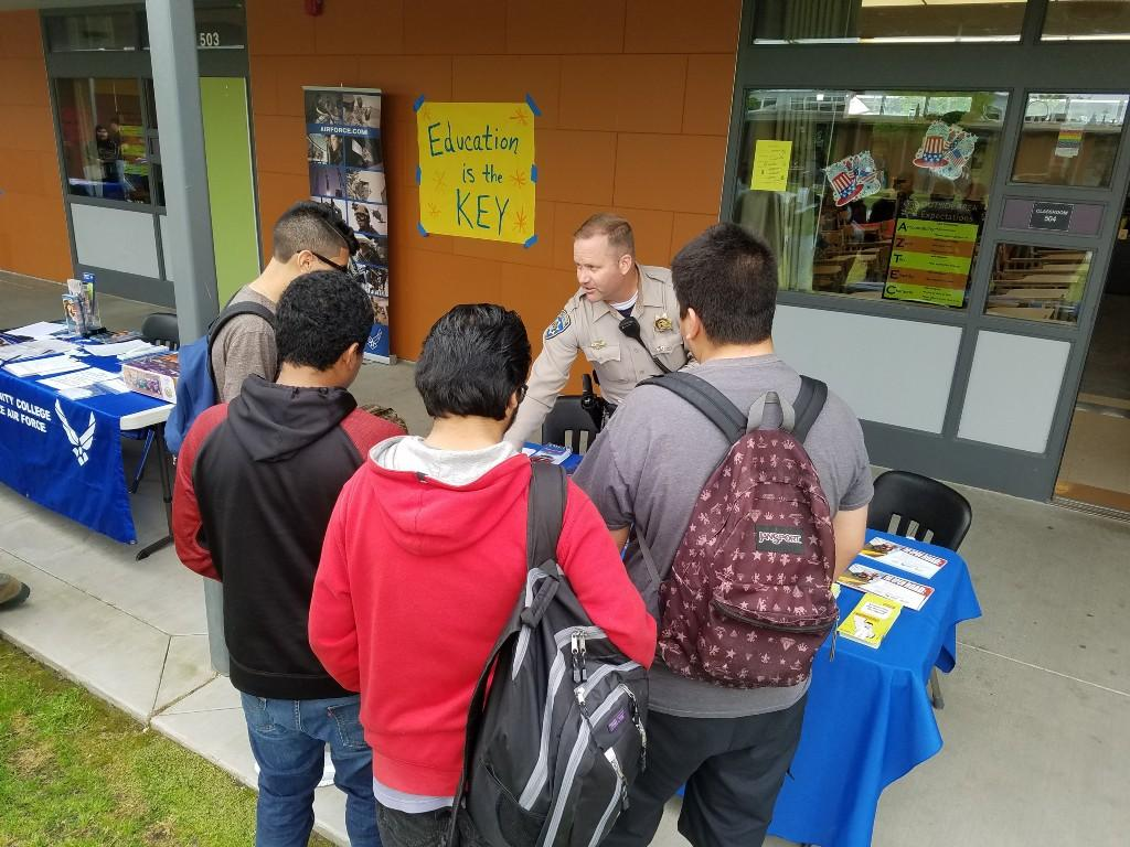 Sheriff TDS career fair