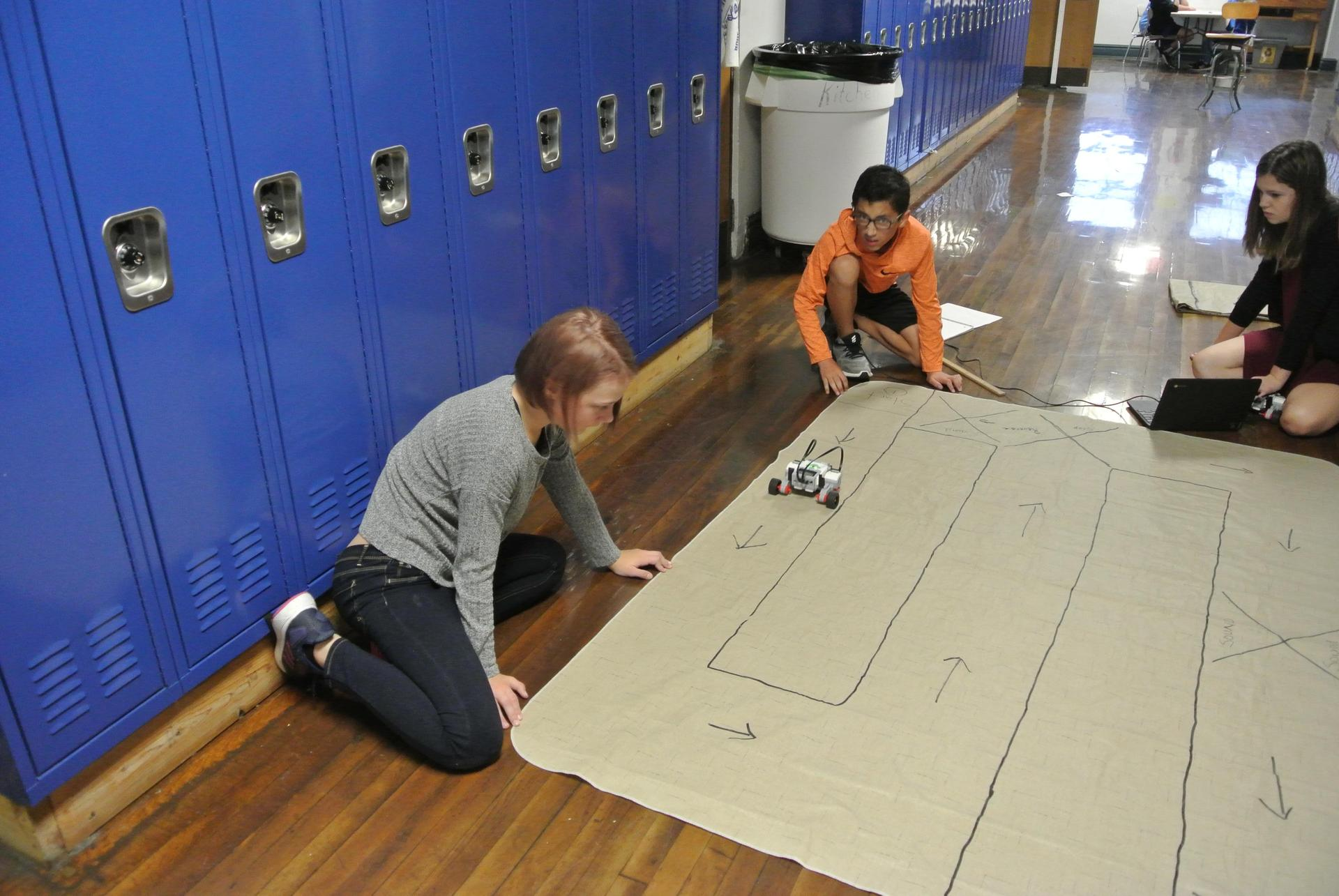 Mrs. Benson and LEGO Robotics