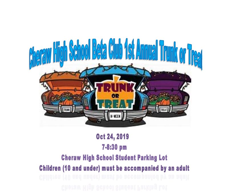 Beta Club Trunk or Treat Featured Photo