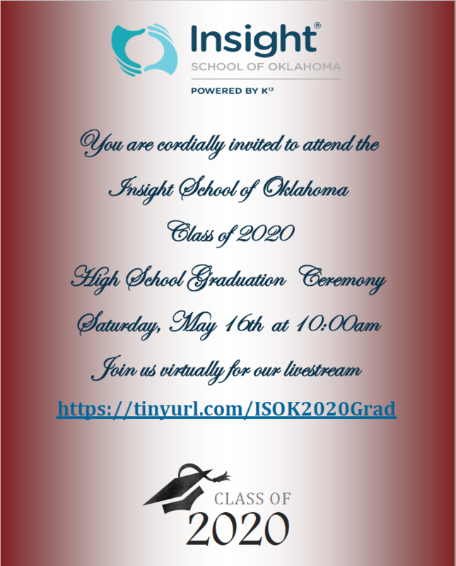 ISOK Class of 2020 Graduation ~ Livestream Featured Photo