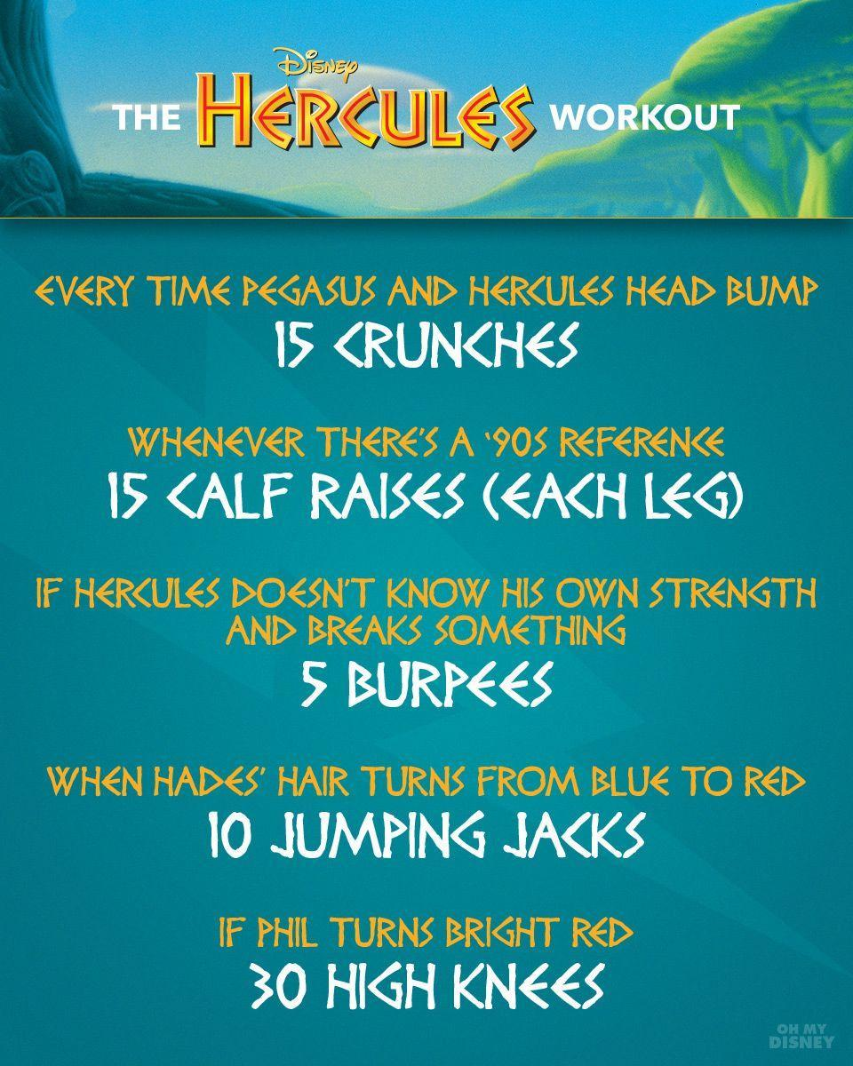 Hercules Workout