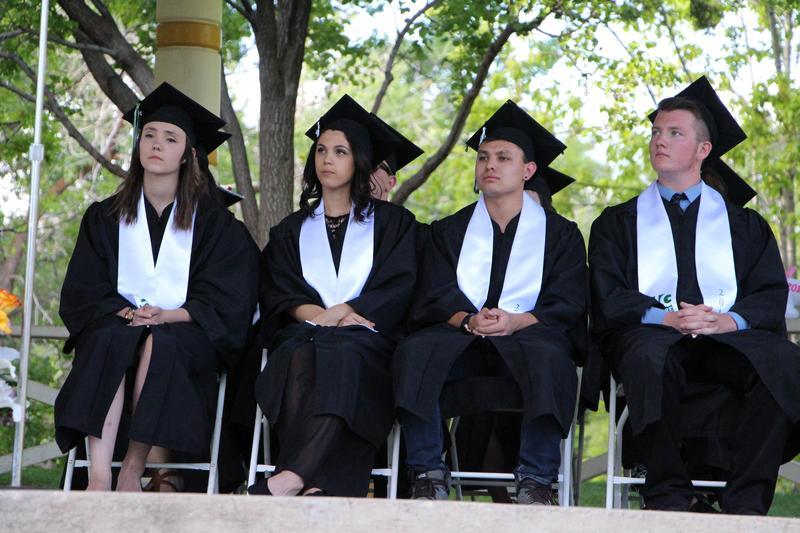 Image of Big Picture seniors at graduation.