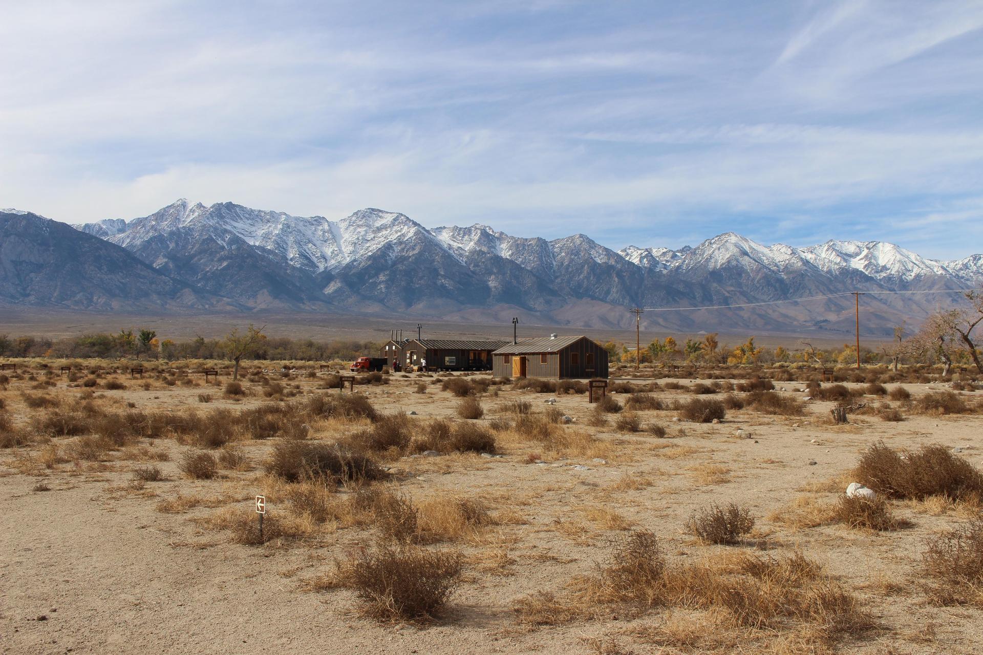 The Sierra Nevadas from Manzanar