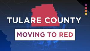 Tulare County Moving to Red photo