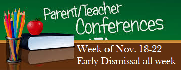 Parent Teacher Conference Week & Early Dismissal All  Week Featured Photo
