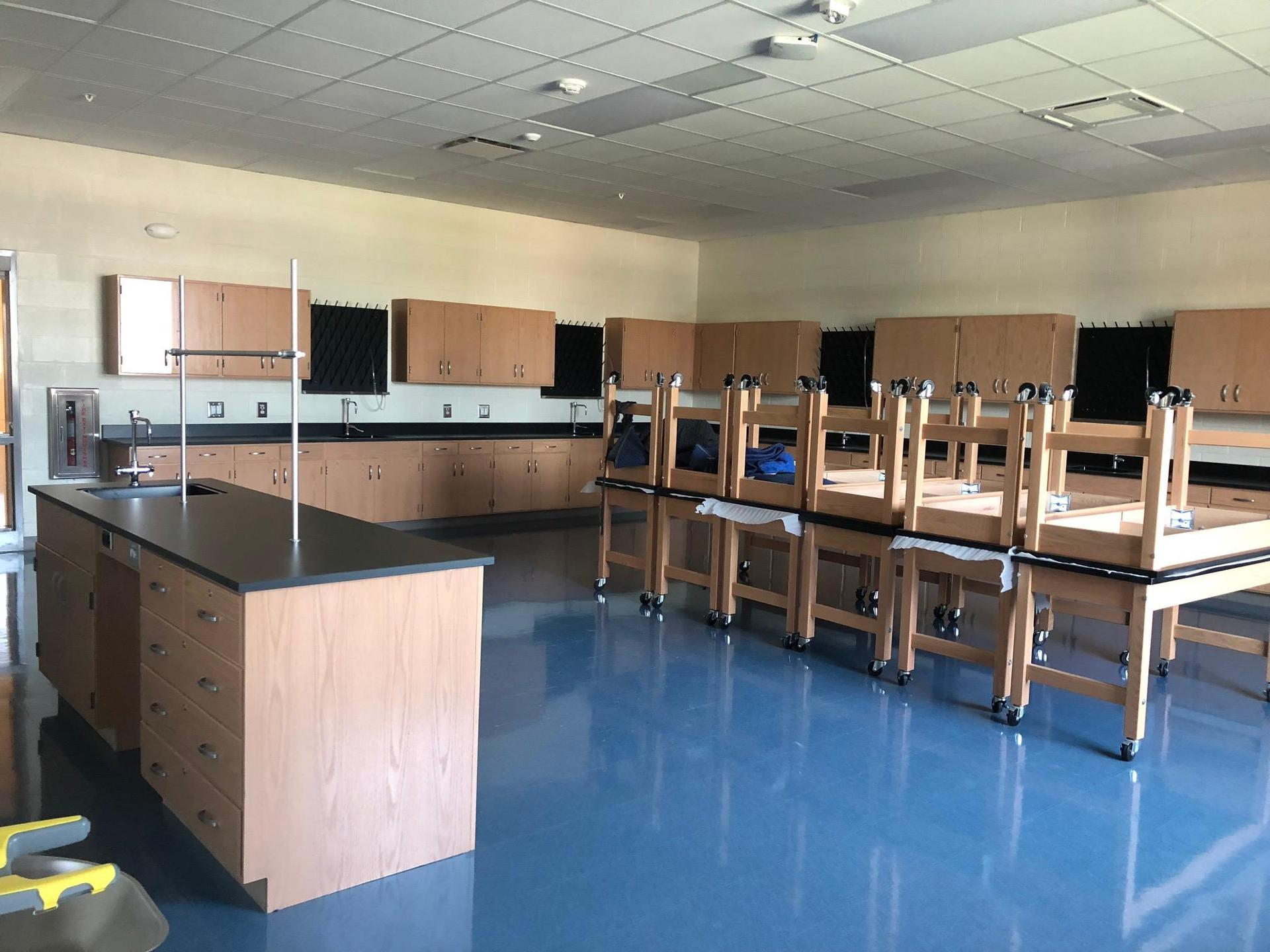 New Science Classroom