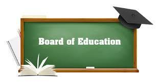 Boar of Education written on chalkboard