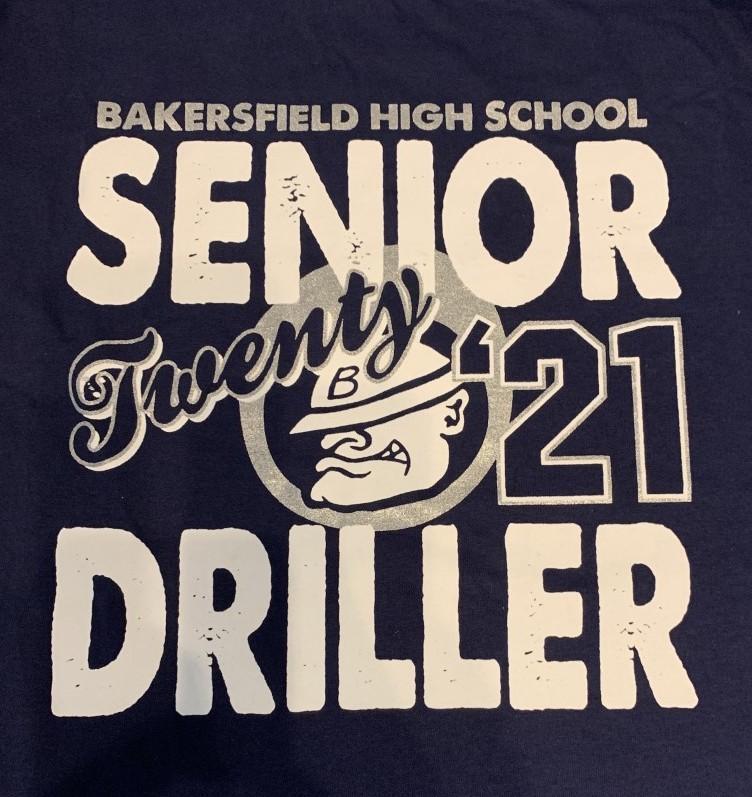 Senior shirt design