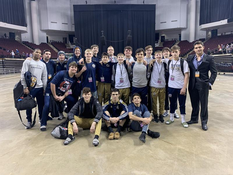 Wrestling Takes Home Two Individual State Titles Featured Photo