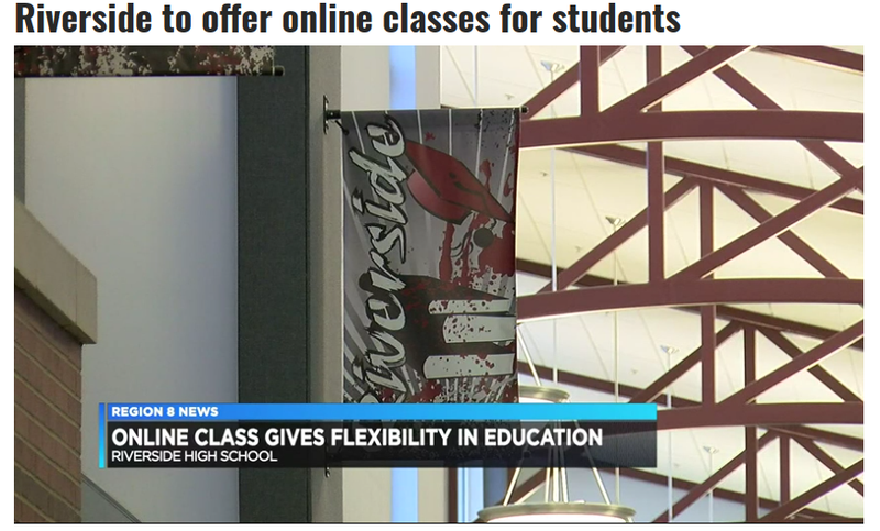 Riverside to offer online classes for students Featured Photo
