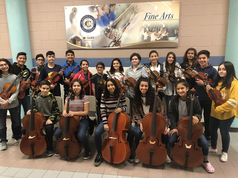 19 Cathey Students Selected for All-Region Orchestra