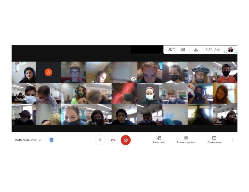 google meet screen shot