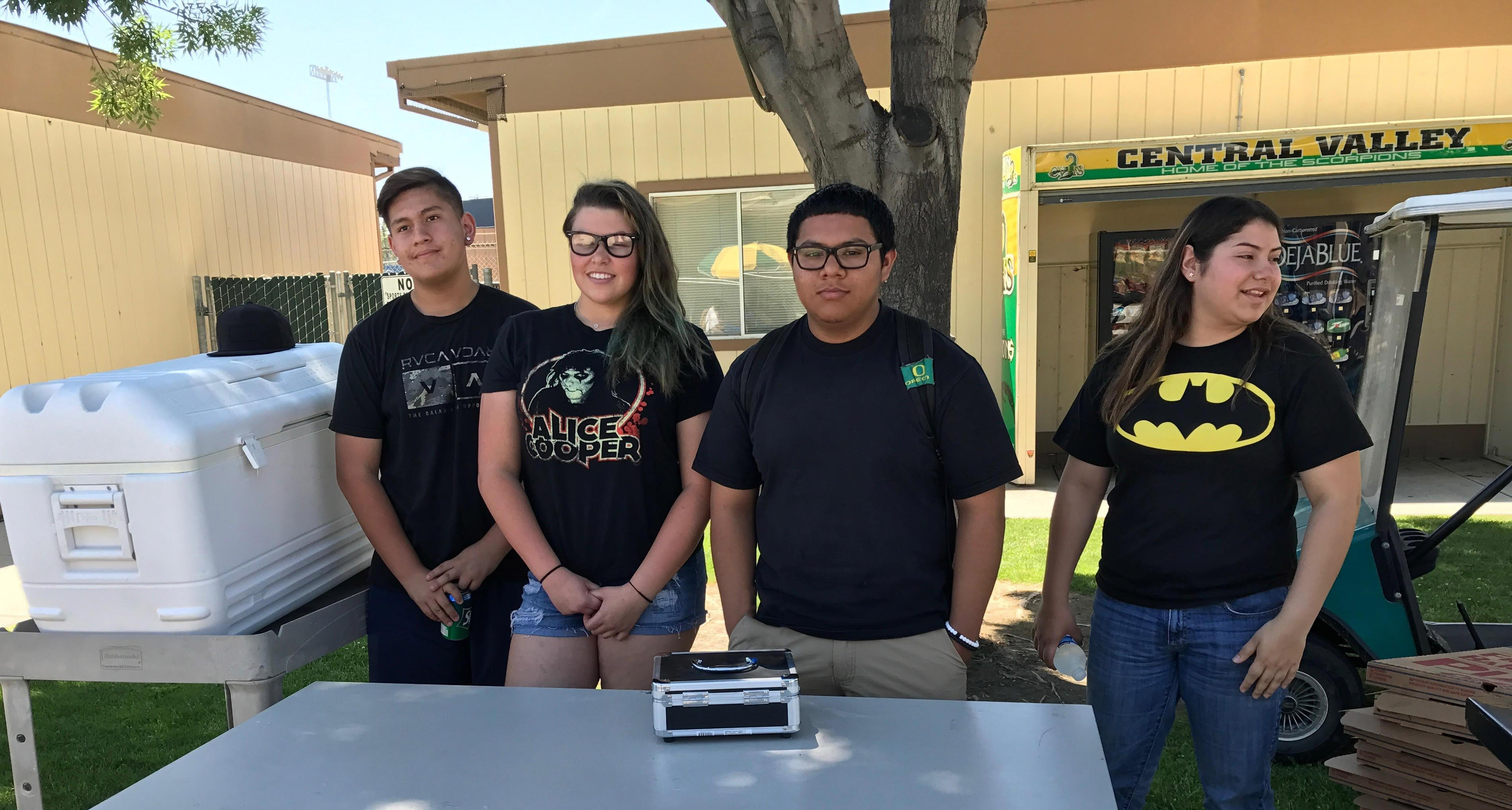 ASB organized a pizza sale that took place on May 5th.