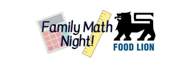 Math Night at Food Lion