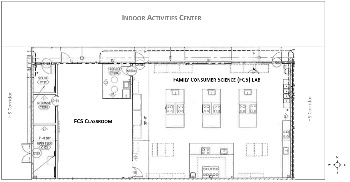 Design Plans for New FCS Lab & Classroom
