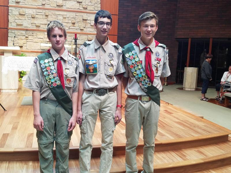 Boy Scouts Honored Thumbnail Image