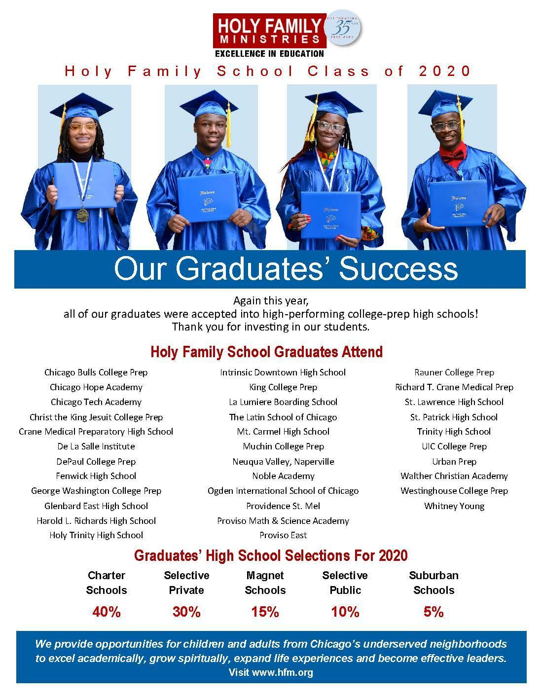 2020 Graduation Flyer