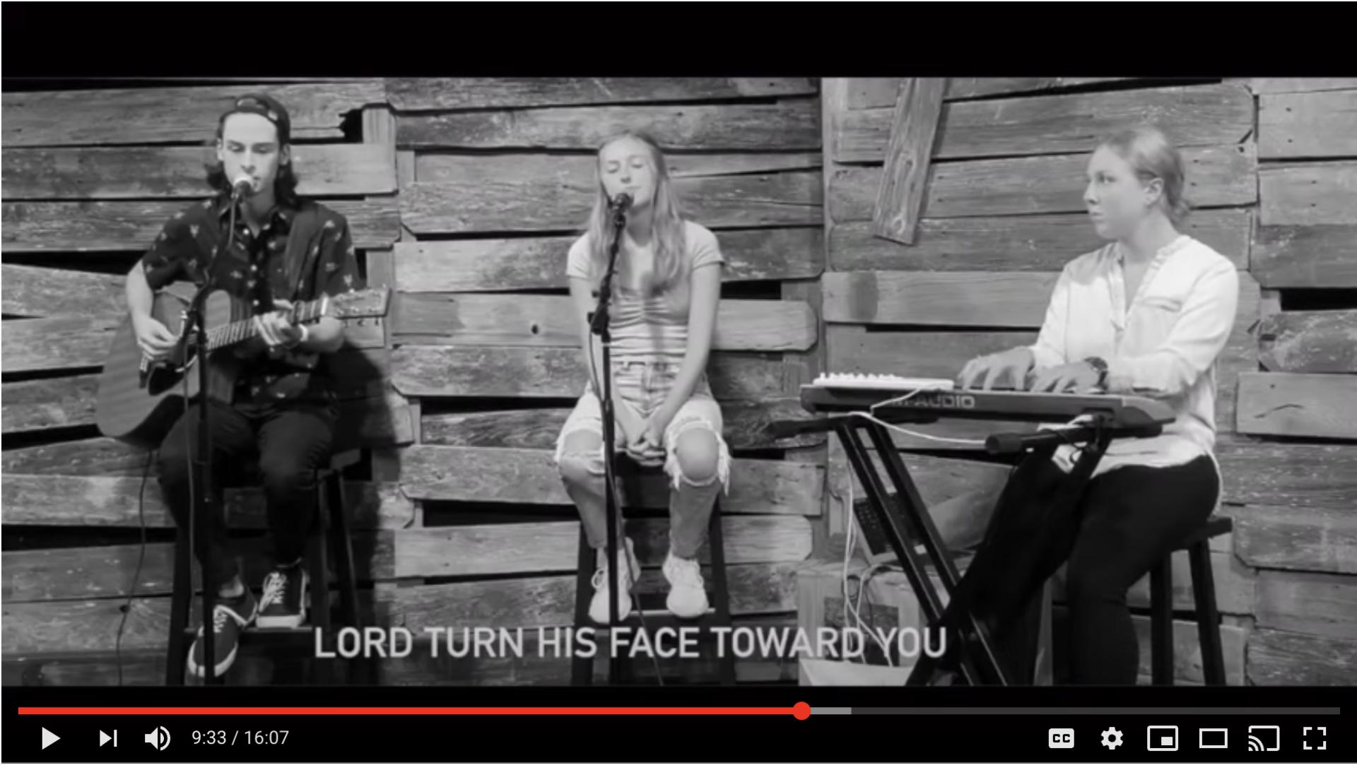 Image of video of Jr/Sr High chapel