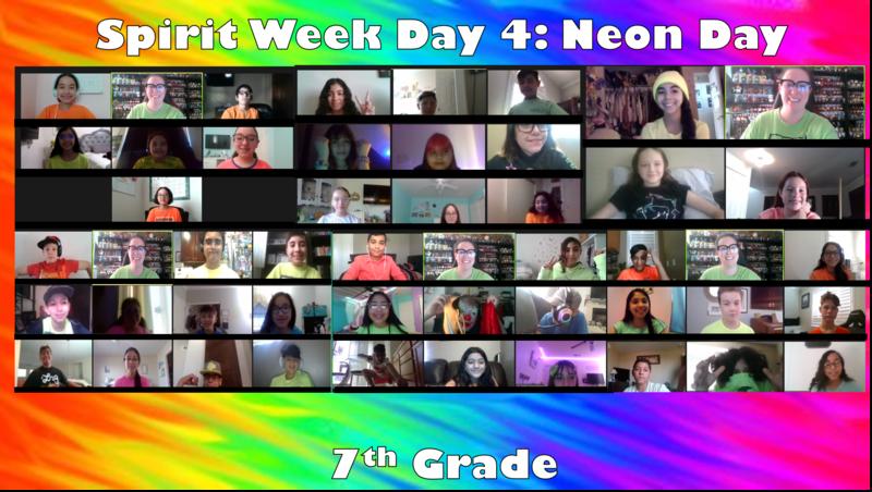 Day 4 of Red Ribbon Spirit Week - Wear Neon Thumbnail Image