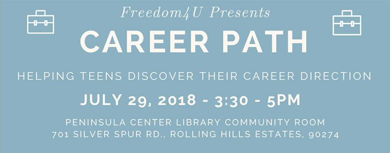 July 29 | Career Path presented by Freedom 4 U Thumbnail Image