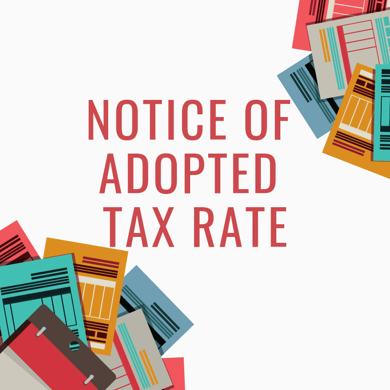 Notice of Tax Rate