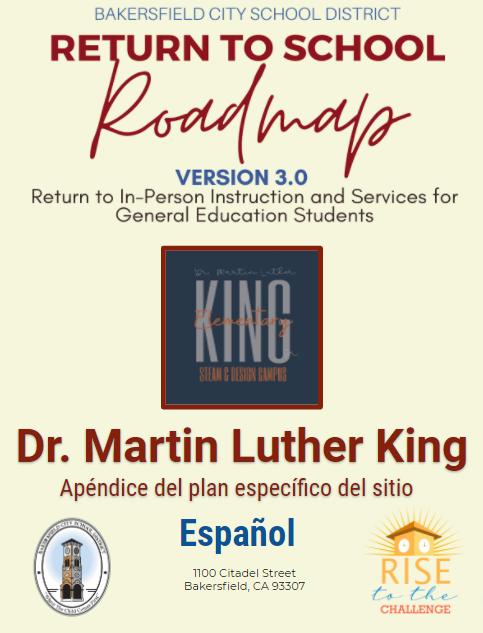 KING Plan para el Regreso a la Escuela Featured Photo