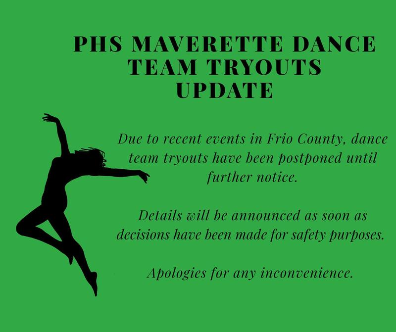 Dance Team Tryouts Postponed Thumbnail Image
