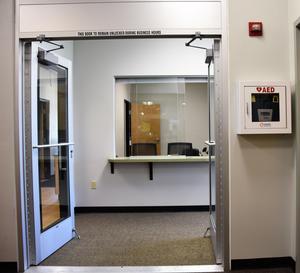 Door leading to Wellness Clinic