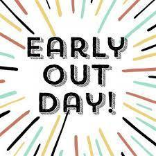 REMINDER: Early out Wednesday! Featured Photo