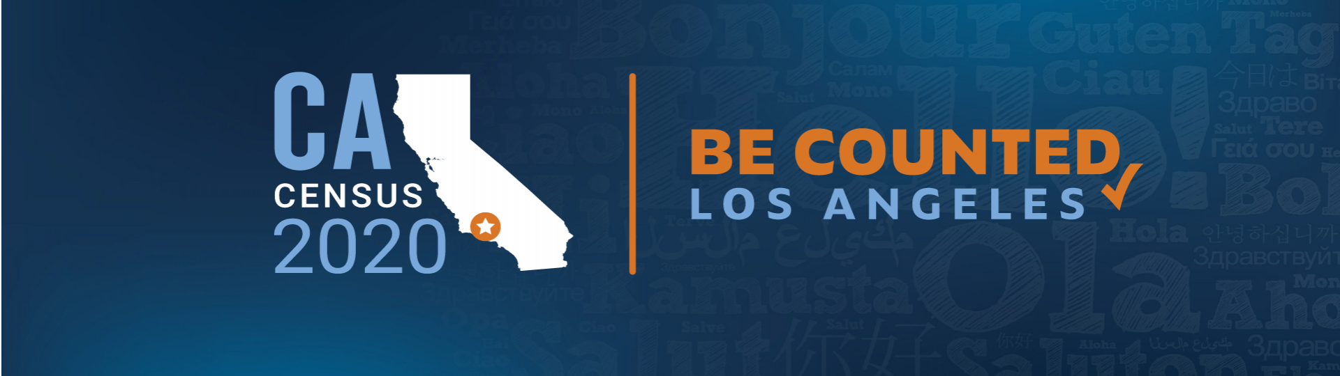 CA Census 2020. Be Counted Los Angeles.
