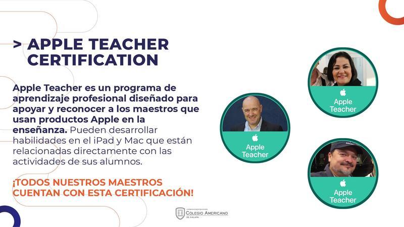 Apple Teacher Certification Featured Photo