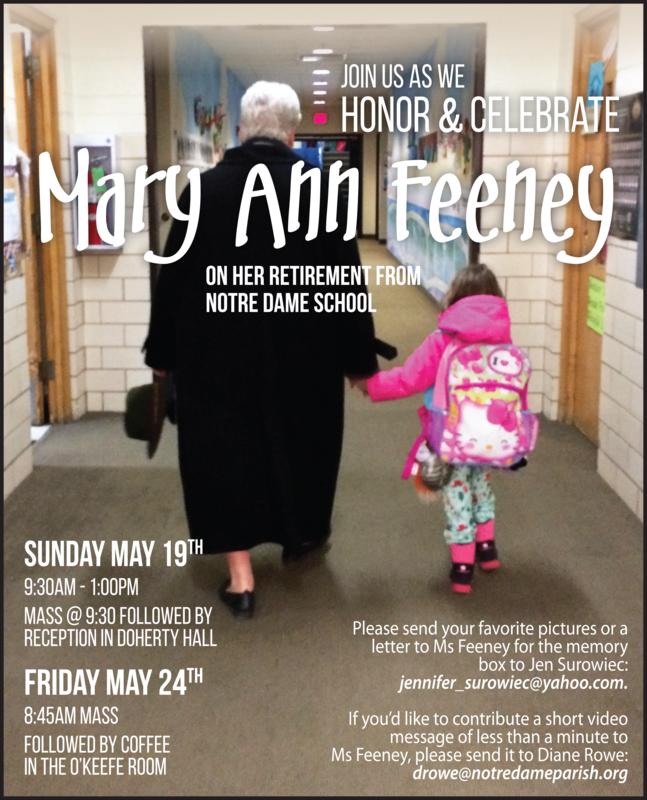 Ms Feeney Retirement Celebration Thumbnail Image