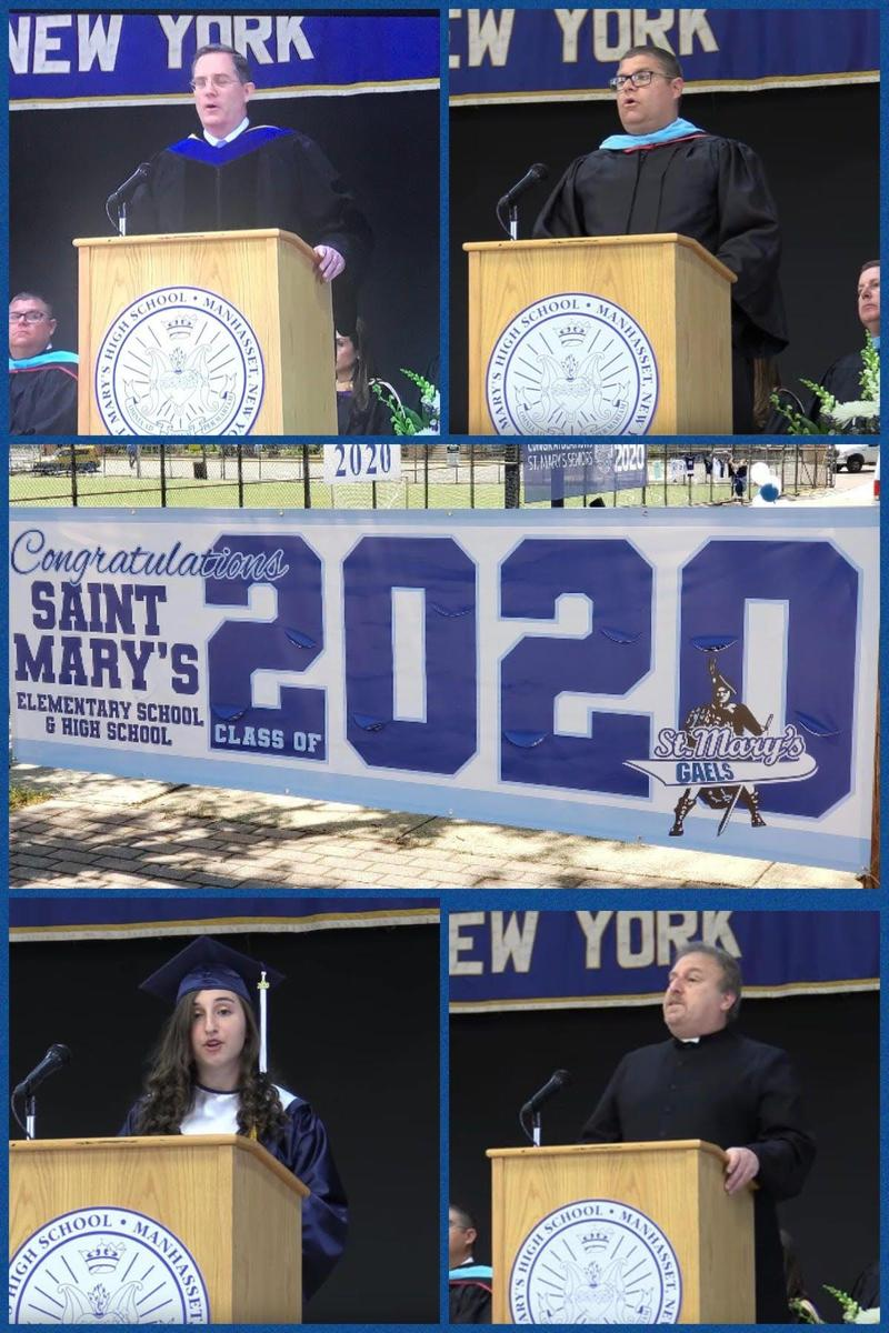 St. Mary's Class of 2020 Graduation Featured Photo