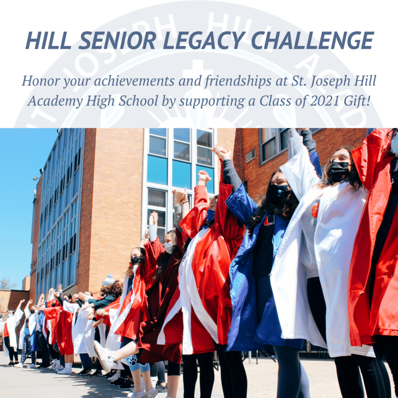 Hill Seniors launch Class Gift Challenge Featured Photo